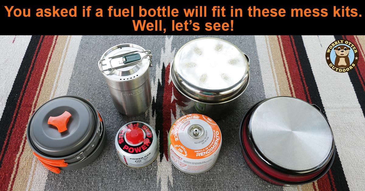 Does this fuel bottle fit in a mess kit