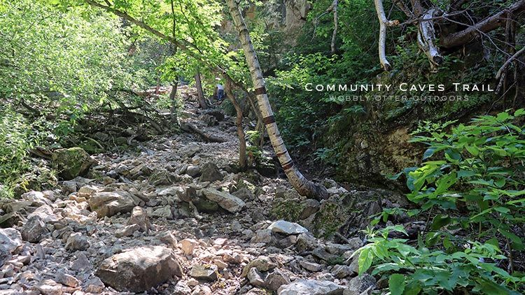 community caves trail spearfish canyon
